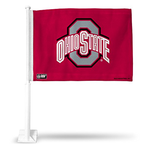 (Rico Industries NCAA Ohio State Buckeyes Car Flag)