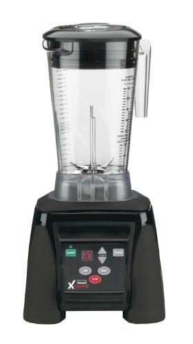 Waring Commercial MX1100XTX Hi-Power Electronic Keypad Blender with Timer and The Raptor Copolyester Container