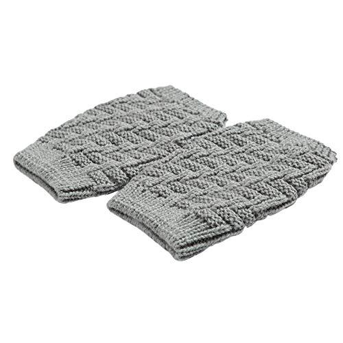 Women Winter Warm Leg Warmers, Witspace Crochet Leggings Boot Socks-Popcorn ()