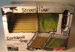 Tech Deck Street Tour - Carlsbad Gap (Carlsbad Gap Tech Deck)