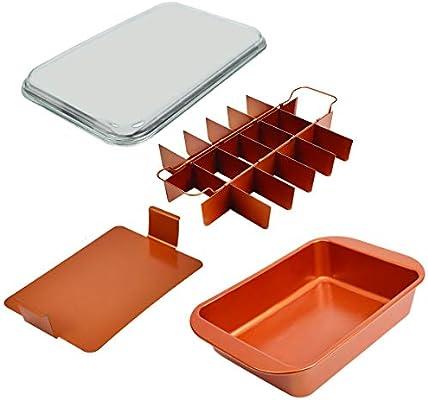 Copper Chef Bake Crisp Pan Set Amazon Com Au Home