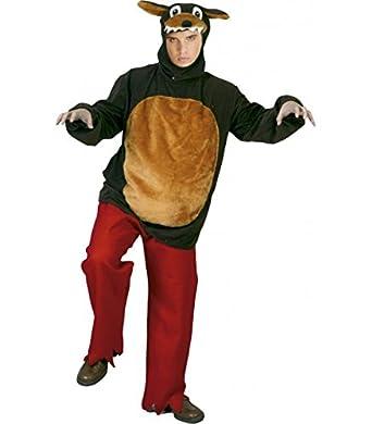Disfraz de lobo adulto Talla M/L: Amazon.es: Ropa y accesorios