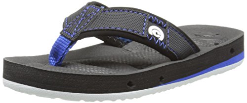 cobian Draino JR Flip Flop , Smoke, 3/4 M US Big Kid