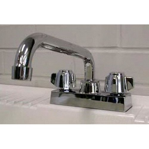 Fiat A-1 Brass 2-Wrist Blade Laundry Tray Faucet, Chrome Plated by Fiat