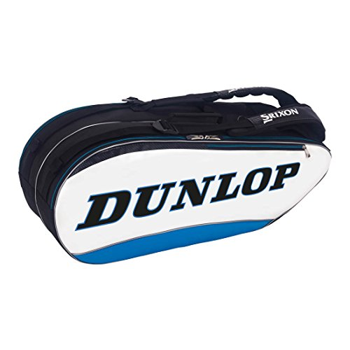 Dunlop Srixon Tennis Bag (8 Pack, Blue)