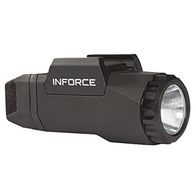 InForce APL for Glock Auto Pistol Weapon Mounted White LED Light 400 Lumens Generation 3 Black AG-05-1