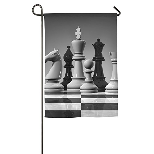 Chess Summer Outdoor Outdoor Decor Garden Flag 12 X 18 Without Holder And Polese Yard Flags