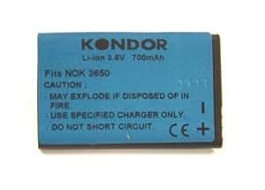 Kit 750 mAh Li-Ion Peso ligero Batería para Nokia 3650