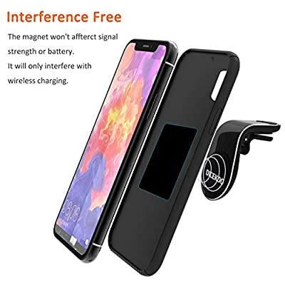 Magnetic Phone Car Mount, DICEKOO 2020 Upgrade Universal Air Vent Car Phone Mounts Holder with Super Strong Magnet for iPhone Xs Max XR 8 7 6 Plus Samsung Galaxy S10 S9 S8 S7 Pixel 3 and More