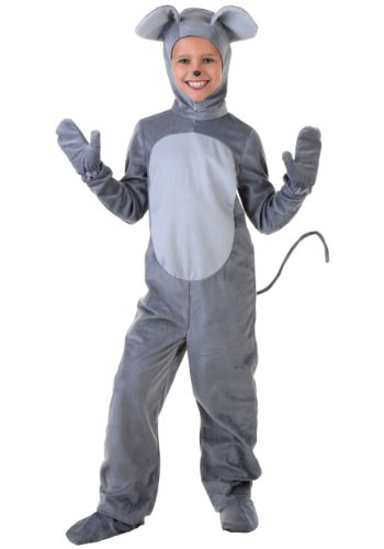 Big Boys' Mouse Costume Medium (8-10) - Cat And Mouse Costumes Halloween