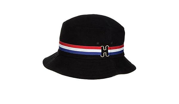 7220cca90e9 Amazon.com  Huf H-Ring Bucket Hat Black L XL  Clothing