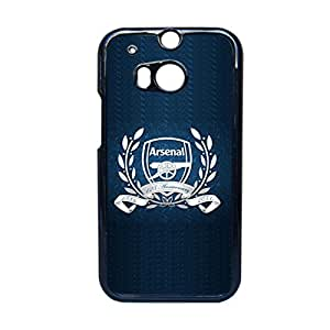 Generic Thin Back Phone Case For Girls Print With Arsenal For Htc One M8 Choose Design 2