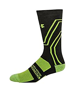 Under Armour Men's UA Scent Control ColdGear Infrared Crew Socks X-Large Rifle Green