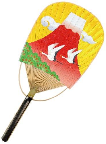[해외]시코쿠 팬 팬 남녀 공통 금은 구름 용 화지 붉은 후지산 / Shikoku fan fan unisex silver Cloud dragon paper Red Fuji