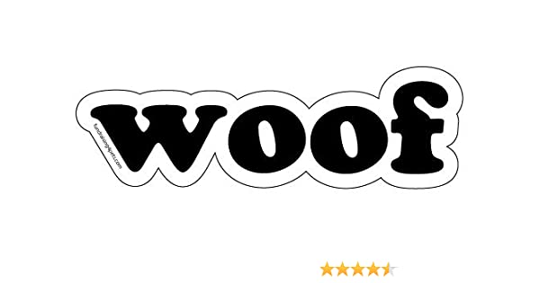 Woof Word Magnet