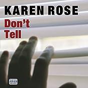 Don't Tell | Karen Rose