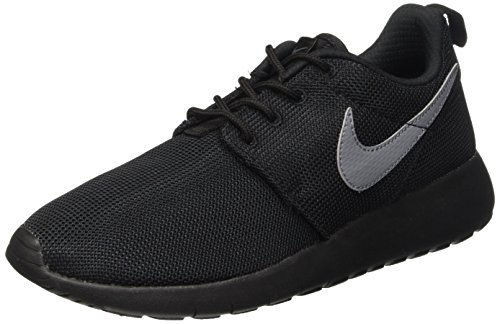 Cool Roshe Nike Gris One Running De Negro Zapatillas Grey gs Niños black v7Aqx47