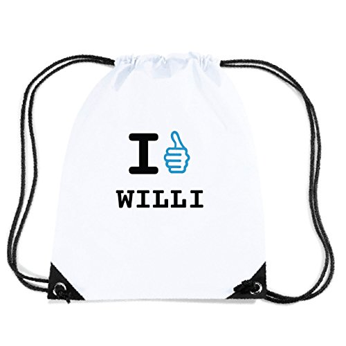 JOllify WILLI Turnbeutel Tasche GYM6022 Design: I like - Ich mag