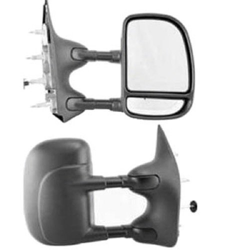 - Go-Parts » Compatible 1992-2000 Ford E-350 Econoline Side View Mirror Assembly/Cover/Glass - Right (Passenger) Side 7C2Z 17682 DA FO1321238 Replacement For Ford E-350 Econoline