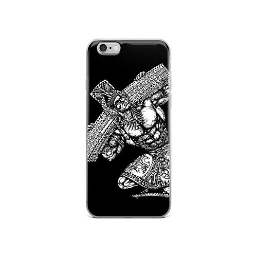 iPhone 6/6s Pure Clear Case Cases Cover Carry The Cross (Iphone 6 Tattoo Case Samoan)