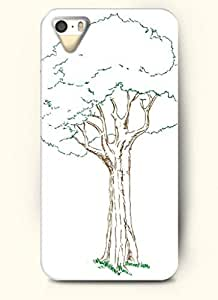SevenArc Phone Case Design with Frondent Brown Tree for Apple iPhone 5 5s 5g