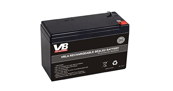 Amazon.com: Actualizado Batería de 9 Amp Hora – APC RBC2 ...