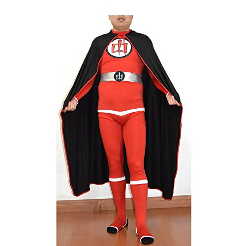 MyPartyShirt Greatest American Hero Adult Spandex Costume-Mens Large