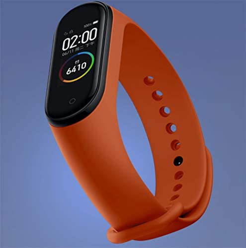 ASZUNE Newest Mi Band 4 Global Version Xiaomi Strengthen Fitness Tracker Amold 120×240 RGB Display Multi-Colored Wristband