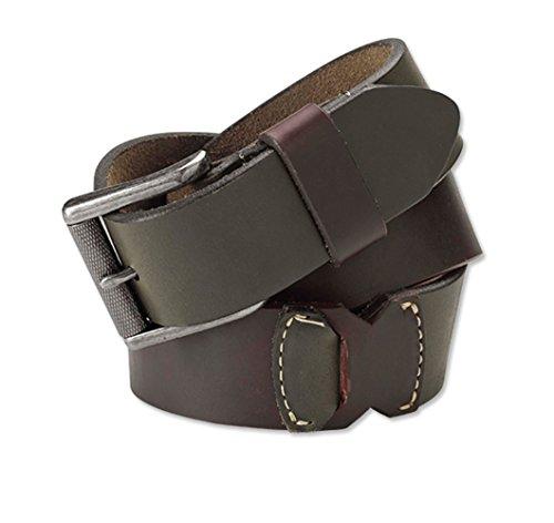 Orvis Two Piece (Orvis Men's Interlock Leather Belt, 42)