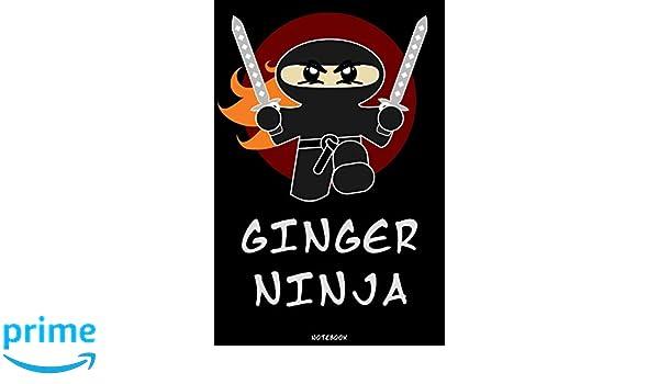 Ginger Ninja: Ninja Journal | Ninja Warrior Notebook | Gift ...