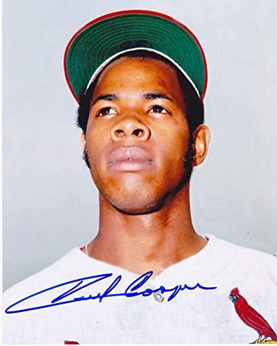 Signed Cooper Photograph - ST LOUIS CARDINALS 8x10 - Autographed MLB Photos