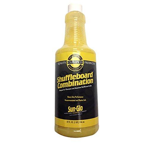 - Sun Glo Shuffleboard Table Cleaner & Polish