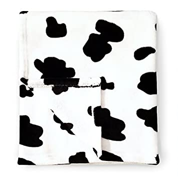 Cute New York Baby Blankets, Cow Pattern