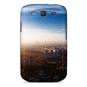 Perfect Cityscapes Skyline Cities Case Cover Skin For Galaxy S3 Phone Case by supermalls