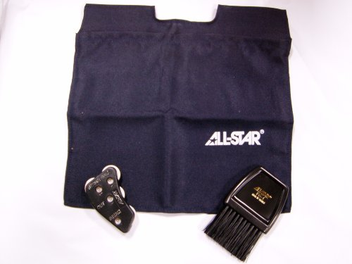 ALL-STAR DELUXE SOFTBALL UMPIRE'S KIT NAVY Umpire Combo Kit