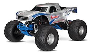 Traxxas Bigfoot: 1/10 Scale Ready-To-Race Monster Truck with Tq 2.4Ghz Radio System, Silver