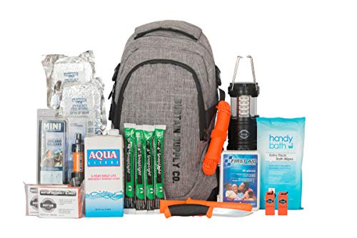 (Sustain Supply Co. Essential 2-Person Emergency Survival Bag/Kit - Be Equipped for 72 Hours of Disaster Preparedness with Premium Basic Supplies for 2 People)