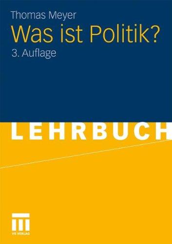Was Ist Politik?  (German Edition)