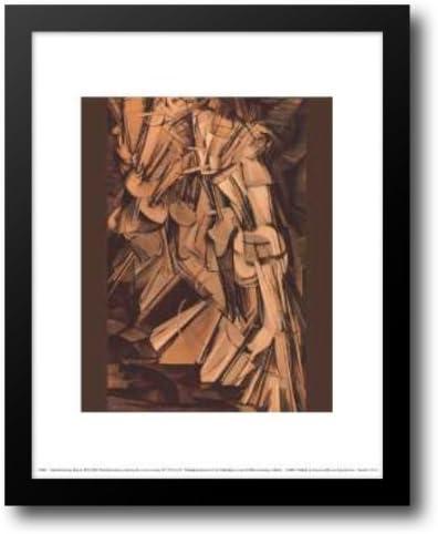 Nude scendi una escalera 2# 15 x 18 cuadro de Metallica de Duchamp, Marcel: Amazon.es: Hogar