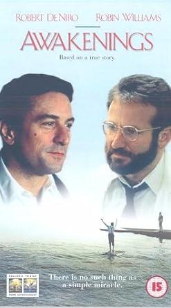 Awakenings Vhs Robert De Niro Robin Williams Julie Kavner Ruth
