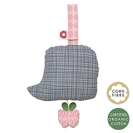 FRANCK /& FISCHER baby-Spieluhr in verschiedenen Farben und Motiven Igel dunkel