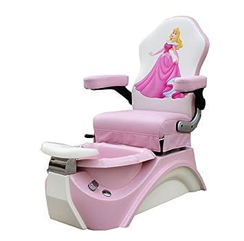 Miraculous Amazon Com Kids Pedicure Chair Pink Sleeping Beauty Childs Creativecarmelina Interior Chair Design Creativecarmelinacom