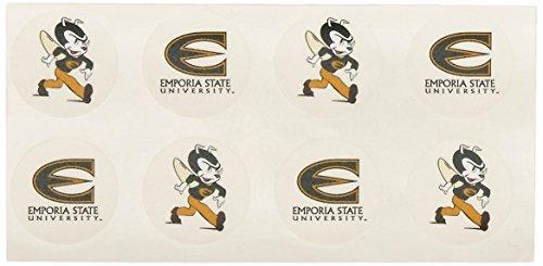 - Rico NCAA Emporia State Hornets Face Tattoos, 8-piece Set
