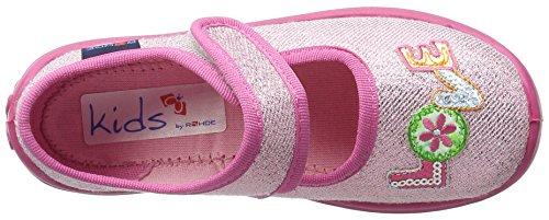 Rohde Mädchen Boogy Flache Hausschuhe Pink (Rose 44)