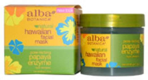 Alba Botanica - Hawaiian Papaya Enzyme Facial Mask (3 oz.) 1 pcs sku# 1899046MA