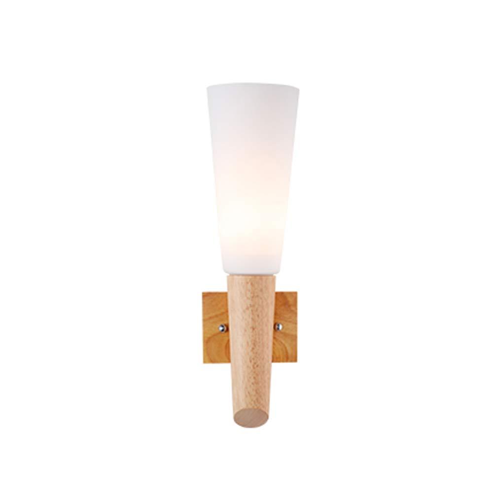Massivholz Wandleuchte Moderne Schlafzimmer Flur Gang Led Licht Kinderzimmer Dekoration Lampe Leselampe