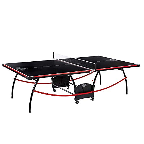 Lancaster 2 Piece Tournament Indoor Folding Table Tennis Ping Pong Game Table from Lancaster Gaming Company