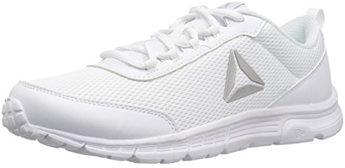 Making Memories Porcelain (Reebok Women's Speedlux 3.0 Sneaker, White/Porcelain/Cloud Grey, 6.5 M US)
