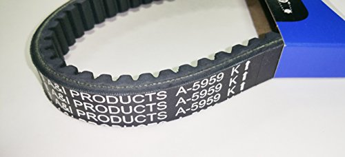 Kevlar Cogged Asymmetric Go Kart Belt for Manco 5959