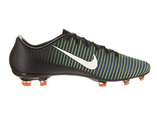 Tacchetta Da Calcio Nike Mercurial Veloce Iii Fg (sz 9.5) Nero, Verde Elettrico